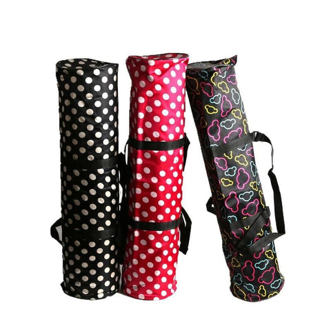 Waterproof Yoga Mat Bag Exercise Carry Bag Multi-Functional Storage Pockets with Adjustable Strap