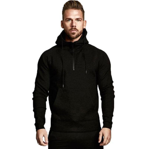 Men's Breathable Sport Tech Pullover Hoodie