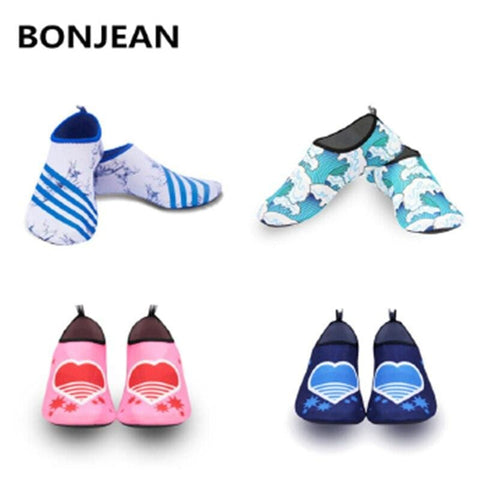 BONJEAN Bottom Beach Sneakers Shoes Unisex Latent Swimming Driving Fitness Leisure Barefoot Seaside Water Sports Diving Shoes