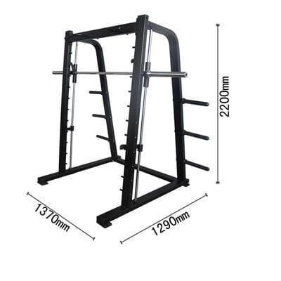 Commercial Smith Machine Squat Rack Gym Recommendation Rack Weight Bench Portal Frame Smith Rack European Style