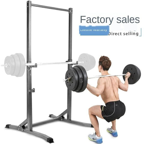 Factory Supply Chin-up Squat Rack Indoor Stable Adjustable Household Fitness Equipment Chin-up