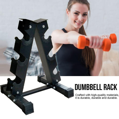 1pcs mancuernas Bracket Small Leaves Big Shapes Dumbbell Bracket Rack Fitness Weight Rack Gym Equipment Accessories
