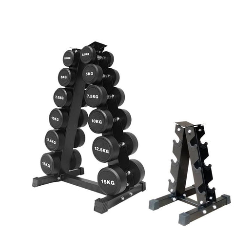 Triangular Three Six Nine on Dumbbell Rack Dumbbell Placing Rack Commercial Use Gym Dumbbell Rack
