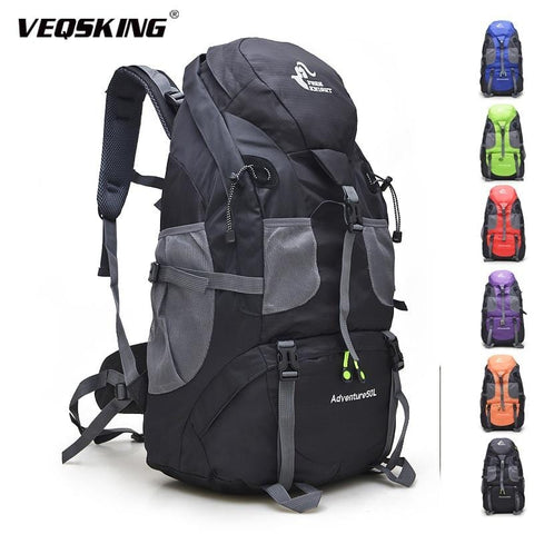 Free Knight 50L Hiking Backpacks, Unisex Waterproof Trekking Backpack, Outdoor Sport Mountain Climbing Bags
