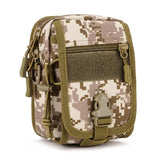 1PC Outdoor Riding Messenger Bag Military Camouflage Molle Tactical Sport Chest bag Men Travel Climbing Shoulder Bag New 7
