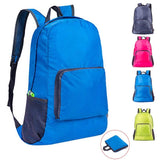 Men and women outdoor sports climbing backpack gym bag nylon waterproof bag leisure travel portable folded backpack