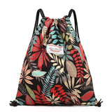 Sports Gym Bag Waterproof Drawstring Bag Women Girls Gym Backpack Outdoor Bag for Fitness Traveling Cycling Swimming Wholesale