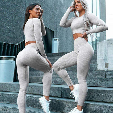 Women's 2 Piece Yoga Sport Slim Set
