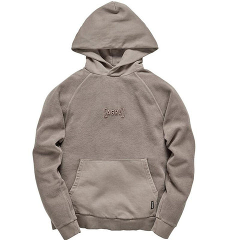 Garment-Dyed Reverse Knit Hoodie