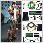 Eight kinds of Resistance Bands Sets Elastic Tubes Band Training Yoga Exercise Fitness Workout Gym Expander Pilates Equipment - UDO FITNESS