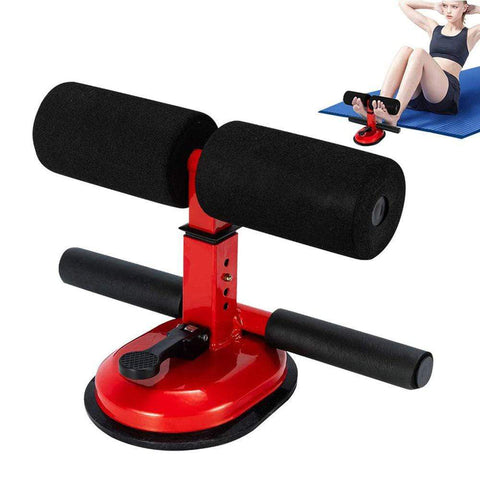 Sit Up Bar Floor Assistant Abdominal Exercise Stand Ankle Support Trainer Workout Equipment for Home Gym Fitness Travel Gear - UDO FITNESS