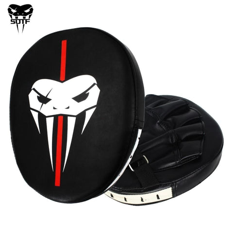 SOTF Snake head survival MMA Boxing Gloves Pads Tiger Muay Thai Boxing Training PU boxer hand target Pads fight mma gloves sanda