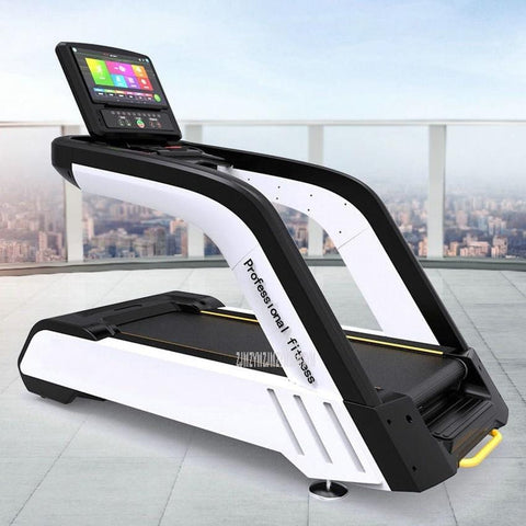 EM8600 Commercial Electric Treadmill Gymnasium Luxury Super Quiet 18.5-inch LED Screen Fitness Treadmill Sports Equipment