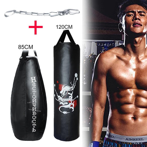 85/120cm Boxing Bag Boxeo Punching Bag Sandbag Empty Training Muai Thai mma Pera Loca Boxeo
