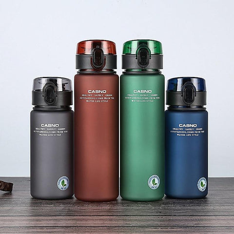 Brand BPA Free Leak Proof Sports Water Bottle High Quality Tour Hiking Portable My Favorite Drink Bottles 400ml 560ml free