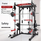 USA household squat rack, home use gantry frame, fitness barbell bench press, comprehensive training equipment source factory