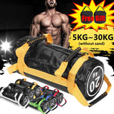 5~30kg PVC Filled Weight Sand Power Bag Strength Training Fitness Exercise Cross-fits Sand bag Body Building Gym Power Sandbag