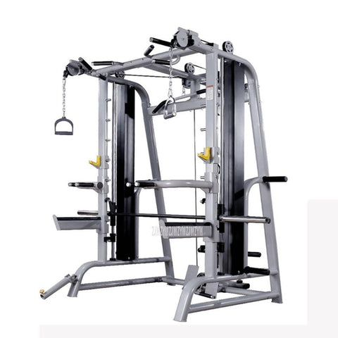 Multifunctional Barbell Deep Squat Frame Trainer Kneeling High Pull Down Chest Pull Rope Training Combination Fitness Equipment