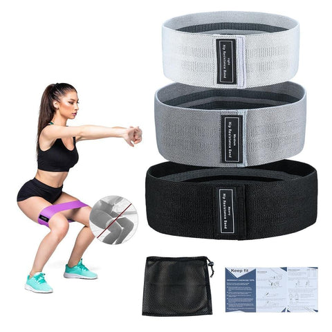 3 Levels Gym Fitness Resistance Bands Yoga Stretch Pull Up Assist Mini Bands Rubber Crossfit Exercise Training Workout Equipment