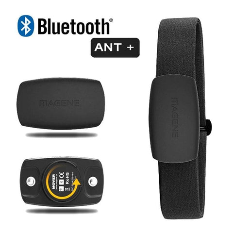 MAGENE MHR10 Updated H64 Heart Rate meter Sensor Bluetooth 4.0 ANT+ Bike Sports Fitness Accessories Optional