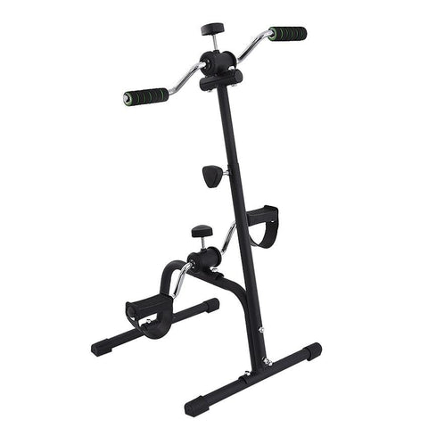 CJ-LK-024 Indoor Mini Fitness Exercise Bike Treadmill Vertical Rehabilitation Bicycle Handrail Cycling Stepper Leg Pedal Trainer