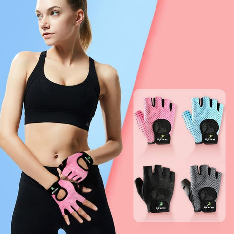 Professional Fitness Gloves Non-Slip Yoga Exercise Half Finger  Men Women Power Weight Lifting Hand Protector Cycling accessory