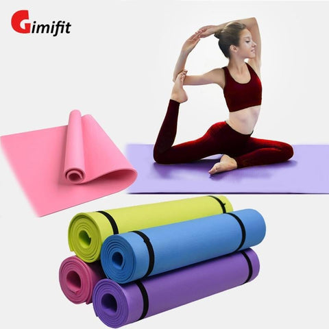 6MM Thick EVA Yoga Foam Mat for Exercise,gym Yoga and Pilates Comfortable Yoga Foam Mat for Exercise, Yoga and Pilates