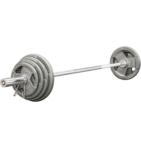 2.2m household barbell bar 1.5m/1.8m weight lifting Olympic pole 5.1cm large hole dumbbell piece threaded bar