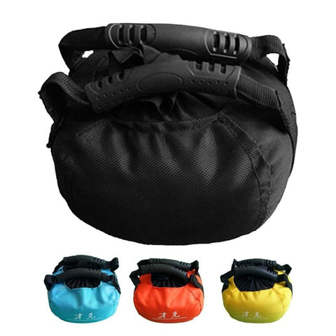 Adjustable Kettlebell Sandbag Portable Heavy Duty Training Sand Bag Weightlifting Dumbbell For Home Gym Fitness Body Building