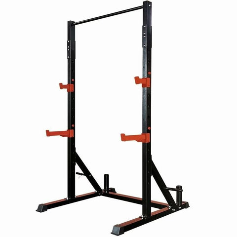 Professional multi-functional household squat frame frame gantry fitness barbell rack bench comprehensive training equipment