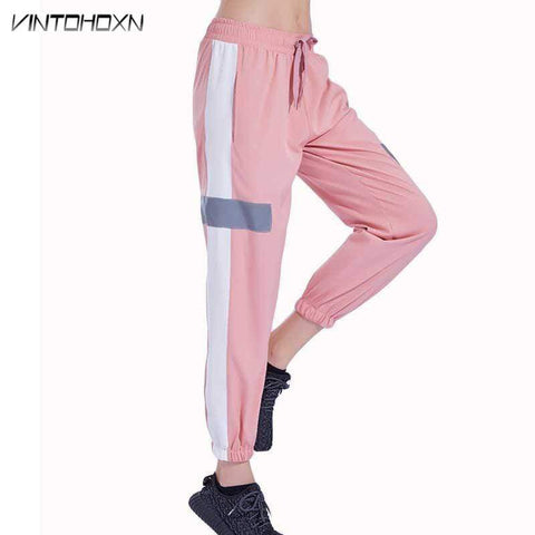 Women Casual Loose Sporting Runs Gymming Pants Yogaing Exercise Fitness Sweatpants Workout Women's Clothing Trousers 18207