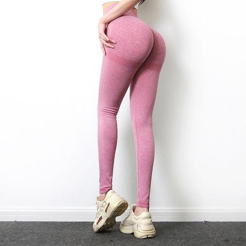High Waist Seamless Gym Leggings Yoga Pants Lycra Tights Leggings Sport Women Fitness Slim Workout Sports Pants For Women