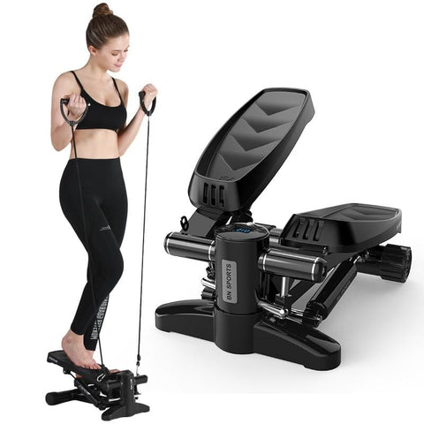 Household Mini Hydraulic Walking Machine Fitness Equipment Multi-Functional Dedicated Stepper Drawcord