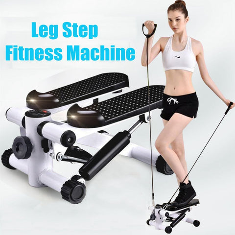 Multi-functional Pedal Stepper Equipped With Elastic Rope Quiet Treadmill Home Mini Lose Weight Maquina De Ejercicios Para Hogar