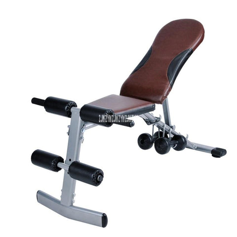 6013 Sit Up Bench folding Supine Board household Dumbbell Stool multifunctional Crunch Bench AB Chair muscle fitness equipment