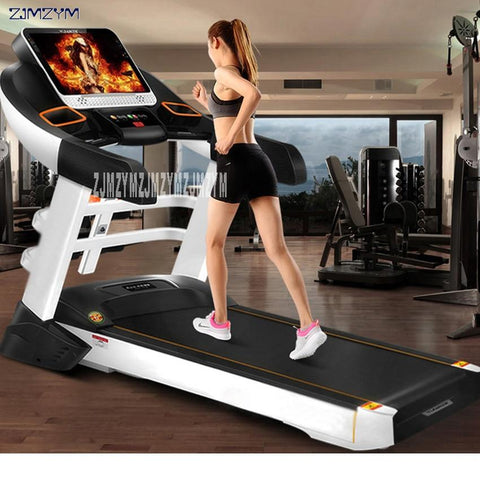 S900 Home Treadmill Multi-Function 15.6 Inch Hd Screen Color Electric Treadmill Super Silent Folding Runing Machine