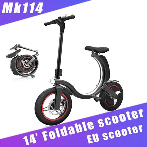 EU Stock 2-5 Days Door To Door Delivery 450W Electric Bicycle Commute Mini Electric Bike 14inch Mini Foldable Long Range