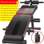 Abdominal Board Machine Sit Up Bench Sport Workout Push Up Weight Training Exercise Fitness Chair