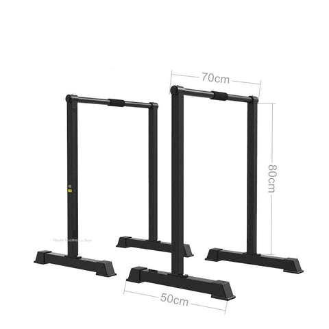 Multi-function Single Parallel Bars, Heavy Duty Workout Dip Station Pull Up Bar, Fitness Dip Station Body Press Parallel Bar
