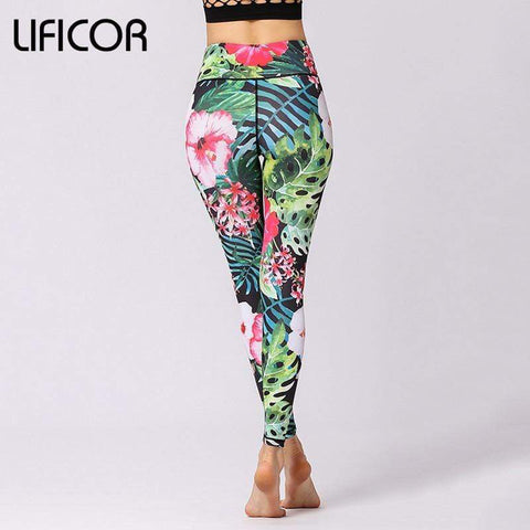 Women Fitness Leggings Yoga Pants Workout Sweatpants Sport Leggings Running Print Athletic Pants Gym Clothing sport pants women