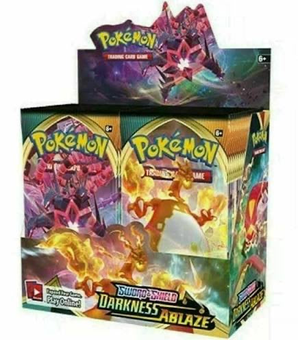 Pokémon Sword & Shield: Darkness Ablaze (Pack, Box, or Case of 6)