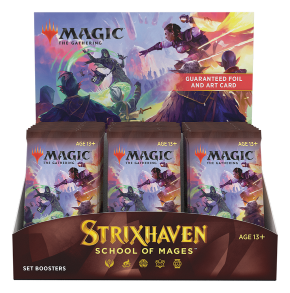 Magic the Gathering Strixhaven Set Booster Box