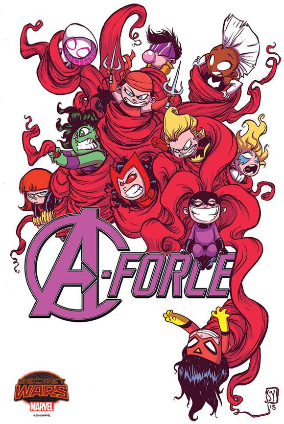 #143 A-Force Skottie Young Poster