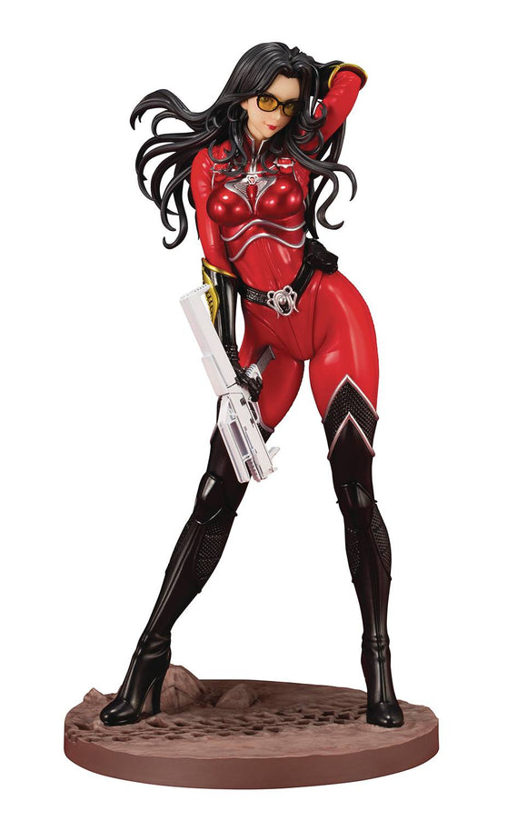 Bishoujo G.I.Joe Baroness Crimson Strike Team Statue
