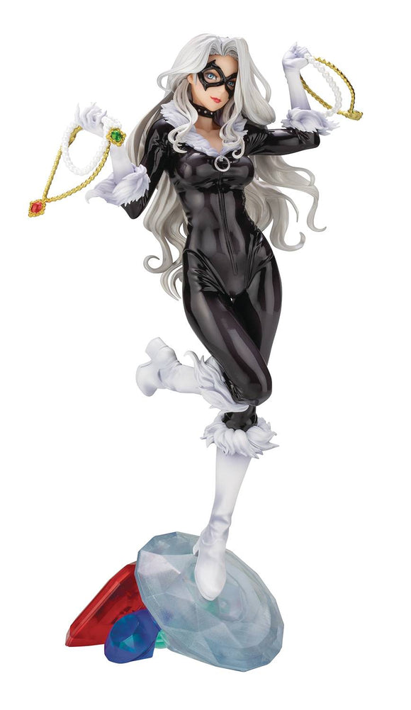 Bishoujo Black Cat Steals Your Heart Statue