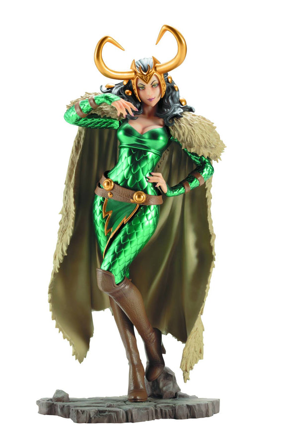 Bishoujo Marvel: Female Loki Statue