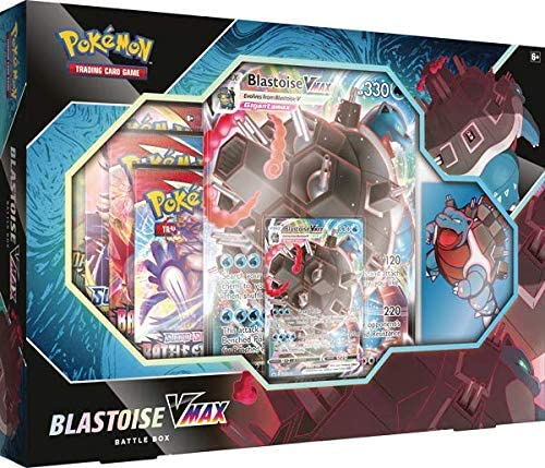 Pokemon : VMAX Battle Box (Choose Blastoise VMAX or Venusaur VMAX)