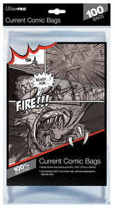 Ultra-Pro Current Size Comic Bags 100 ct