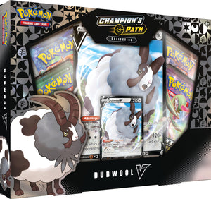 Pokemon Champion's Path : Dubwool V Collection Box