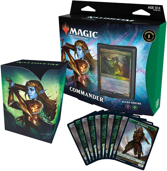 Magic the Gathering Kaldheim Commander Elven Empire